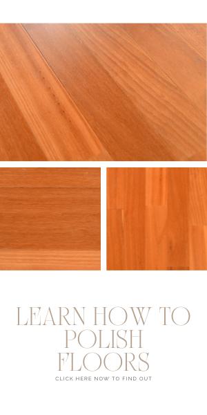 How to polish floors